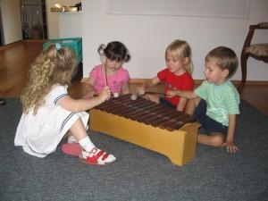 Liedergarten für Kinder von 2 bis 4 Jahren